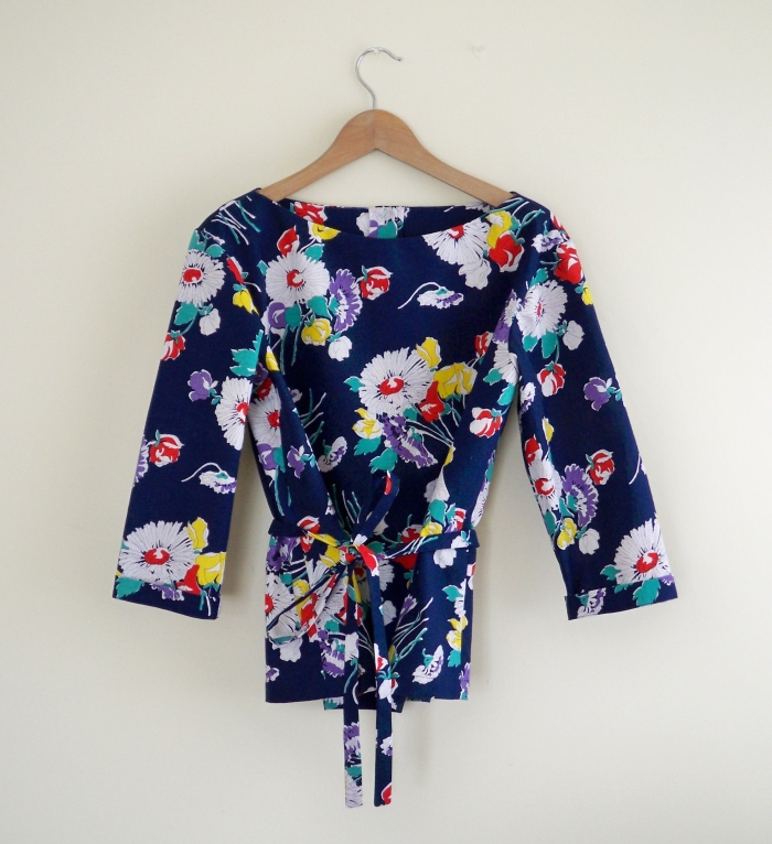 1364 simplicity blouse retro