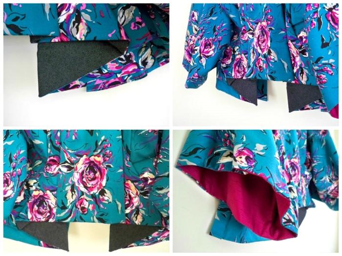 Alexander McQueen Showstudio Kimono Jacket details